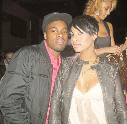Christian (lifestyle editor for Dime magazine) & Brooke (Kanye's ex)